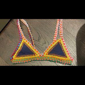 Kiini Tasmin Swim Crochet Top